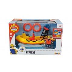 Simba Požárník Sam Záchranný člun Neptun 20 cm s figurkou