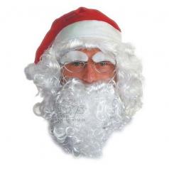 paruka Santa Claus / Mikuláš bílá
