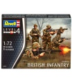 Revell Plastic ModelKit figurky 02519 - British Infantry (modern) (1:72)