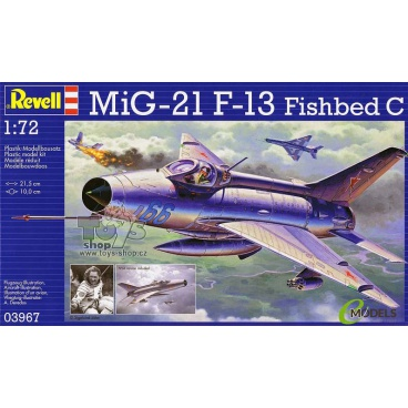 Revell Plastic ModelKit letadlo 03967 - MiG-21 F.13 (1:72)