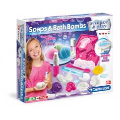 Clementoni Dětská laboratoř - Výroba mýdel a koupelnových bomb