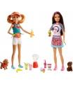 Mattel Barbie VAŘENÍ A PEČENÍ SESTŘIČKY ASST FHP61
