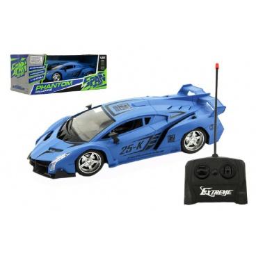 Auto RC plast 25cm na dálkové ovládání na baterie v krabici 33x13x14,5cm