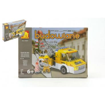 Dromader Stavebnice Dromader Auto Jeřáb 29407 156ks v krabici 25,5x18,5x4,5cm