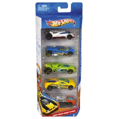 Hot Wheels HW Autíčka Hot Wheels 5ks
