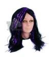 paruka čarodějnice fialový lesk