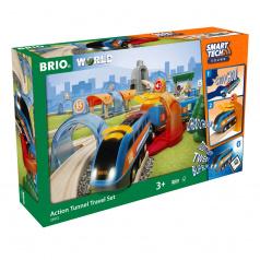 Brio 33972 SMART TECH SOUND Deluxe vláčkodráha s tunely