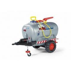 Rolly tanker s pumpou a stříkačkou 1osý - stříbrný
