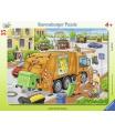 Ravensburger dětské puzzle Odvoz odpadu    35d