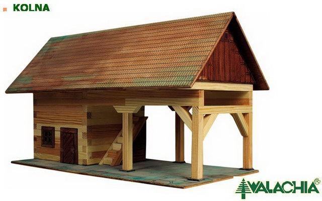 Walachia dřevěná stavebnice - Kolna