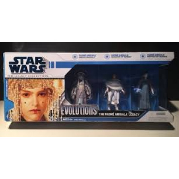 Hasbro Star Wars Evolutions set 3 figurek - QUEEN AMIDALA,SENATOR OF NABOO  a MOTHER OF HEROES.