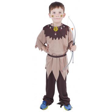 Rappa Dětský kostým Indián s páskem (M)
