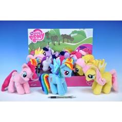 Poník My Little Pony plyš 17cm asst 4 druhy 12ks v boxu od 0 měsíců