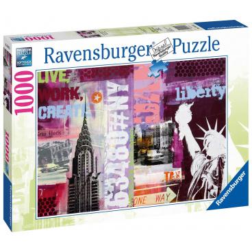 Ravensburger puzzle New York 1000 dílků