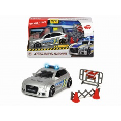 Dickie  Audi RS3 policie, česká verze