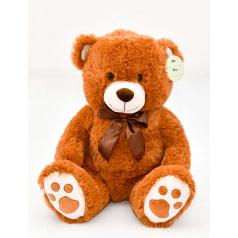 Mac Toys Medvídek sedící světle-hnědý, 40 cm