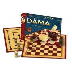 Bonaparte Dáma + mlyn drevené kamene spoločenská hra v krabici 33x23x4cm