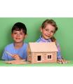 Walachia dřevěná stavebnice - Vario kufřík 72 dílů