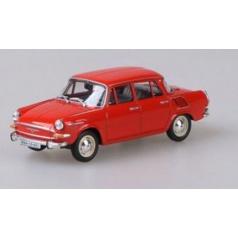 ABREX Škoda 1000MB (1964) 1:43 - Červená Oranžová