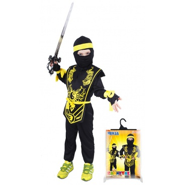 Dětský karnevalový kostým Ninja velikost M