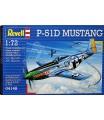 Revell Plastic ModelKit letadlo 04148 - P-51D MUSTANG (1:72)