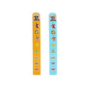 Wiky Meter Krtko na stenu drevo 100 cm asst 2 farby
