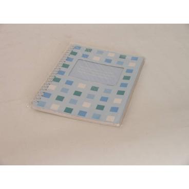 Spirálový blok A5 kostky, 14,8x21cm
