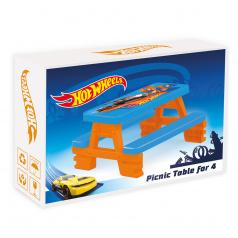 Dolu Piknikový stůl pro 4 Hot Wheels