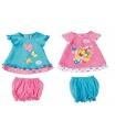 Zapf Creation 823552 Baby Born Šatičky s motýlkem oblečení pro panenku, 2 druhy asort