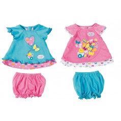 Zapf Creation 823552 Baby Born Šatičky s motýlkem oblečení pro panenku 43cm,  2 druhy asort