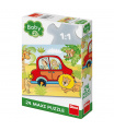 Dino dětské puzzle Safari 24D maxi