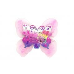 Teddies Krídla motýlie 39x36cm v sáčku karneval