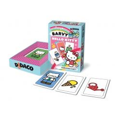 Bonaparte Didaco Hodiny Hello Kitty vzdělávací karty v krabičce 10x16x3cm