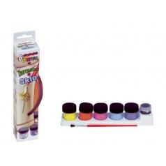 Barvy na keramiku a sklo 6ks v krabičce 5x21cm