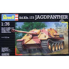 Revell Plastic ModelKit tank 03232 - Jagdpanther (1:76)