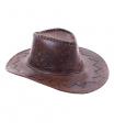 Rappa kovbojský klobouk hnědý dětský