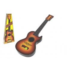 Wiky Gitara s trsátkom 59cm plast v krabici 23x59x7cm