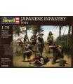 Revell Plastové figurky 02528 - Japanese Infantry WWII (1:76)