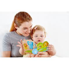 Hape Dřevěná Baby knížka Divočina