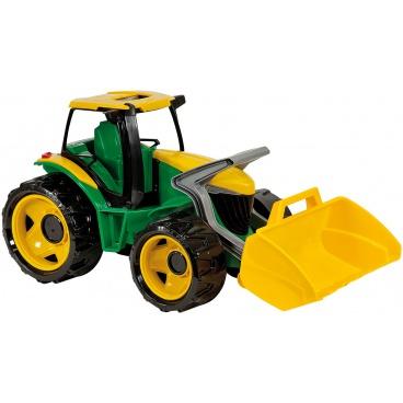 LENA 02057 Traktor se lžíci zeleno žlutý