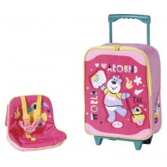 Zapf Creation BABY born Cestovný kufrík so sedačkou pre bábiky