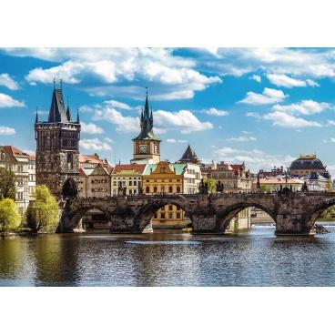 Ravensburger puzzle Praha: Pohled na Karlův most 1000 dílků