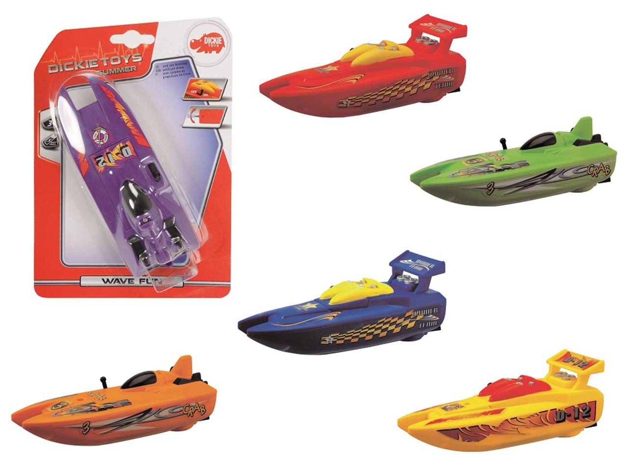 Dickie Rychlý člun Wave Fun na baterie