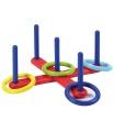 Ecoiffier Házení kroužků - kříž (4 kroužky)