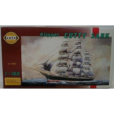 Směr modely plastové CUTTY Sark           loď 1:180