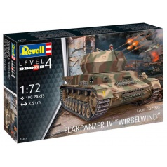 Revell Plastic ModelKit military 03267 - Flakpanzer IV Wirbelwind (2 cm Flak 38) (1:72)