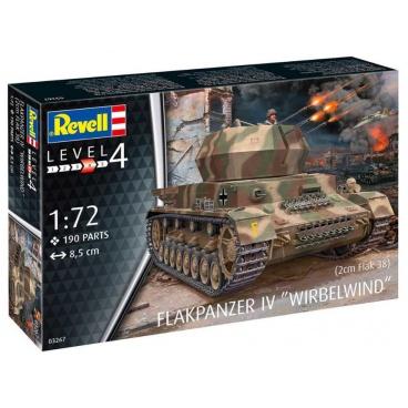Revell Plastic ModelKit military 03267 - Flakpanzer IV Wirbelwind (2 cm Flak 38) (1:72)