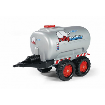 rollytoys Rolly tanker 2osý-stříbrný