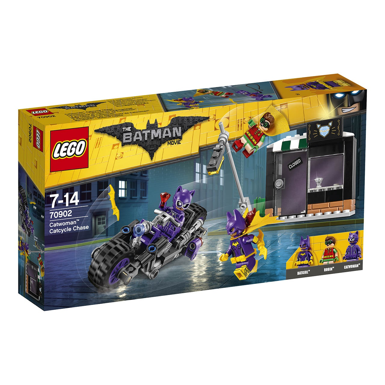 LEGO® Batman Movie 70902 Catwoman™ a honička na Catcycle