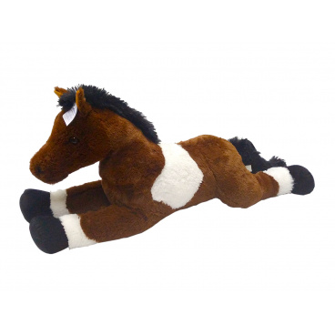 Kůň bílo hnědý 80 cm